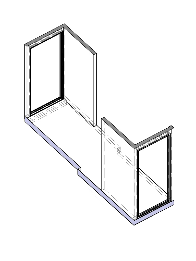 Axonometric projection of link module.